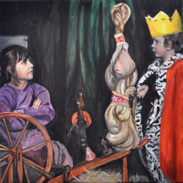 Rumpelstilzchen, Gemälde